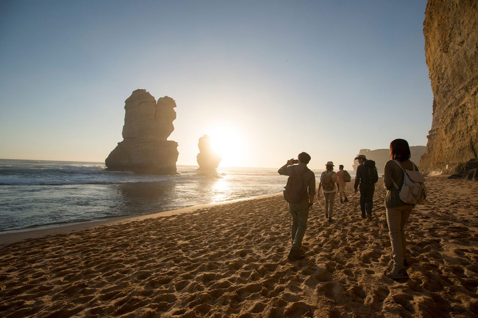 See the famous Twelve Apostles on the Great Ocean Road in Victoria with Great Walks of Australia.