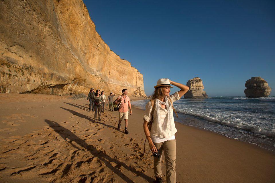 Explore the beautiful Victorian coastline on the Twelve Apostles Lodge Walk with Great Walks of Australia.