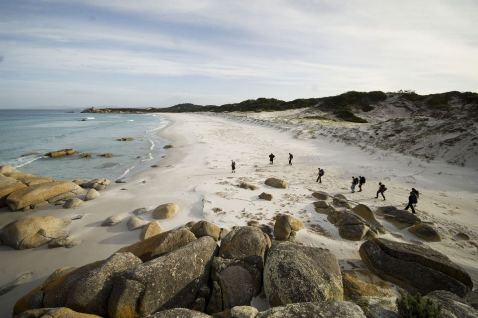 Explore the Bay of Fires Coastline with Great Walks of Australia.
