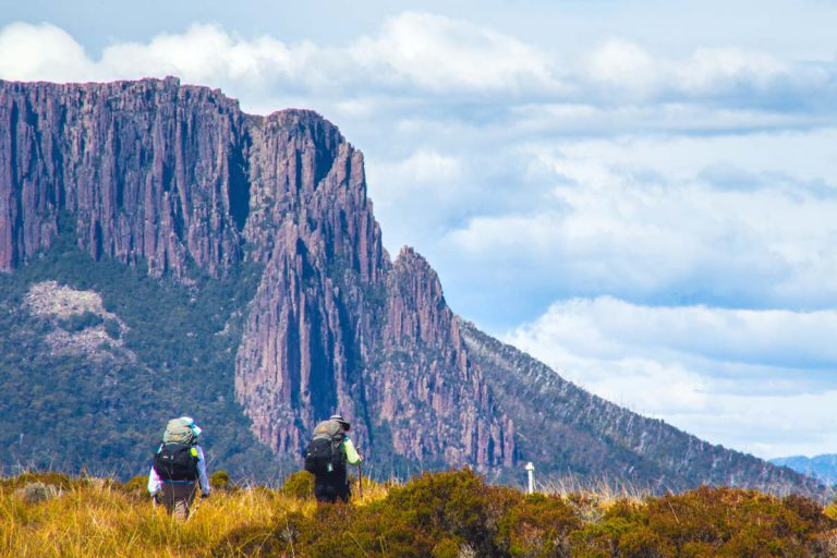 See the incredible Dolerite Columns of Cradle Mountain with Great Walks of Australia.