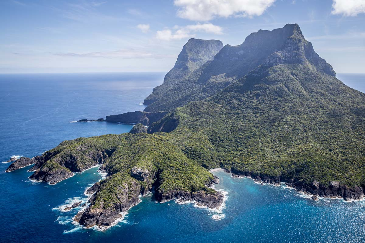 Do the Seven Peaks Walk on Lord Howe Island in New South Wales with Great Walks of Australia.