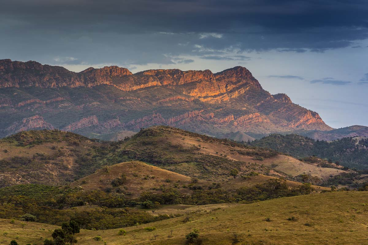 Experience the stunning Elder Ranges on the Arkaba Walk with Wild Bush Luxury.