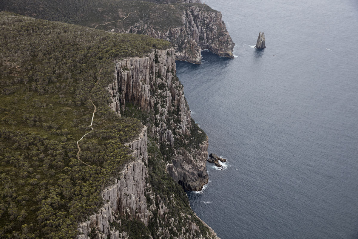 Discover dramatic Tasmanian coastline on the Three Capes Lodge Walk in Tasmania with the Tasmanian Walking Company.