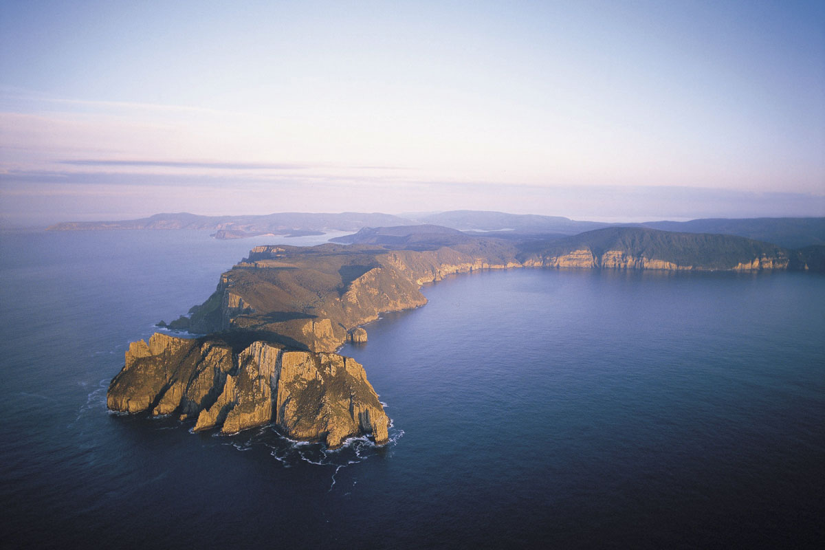 Discover unique Australian landscapes with Great Walks of Australia on the Three Capes Lodge Walk.