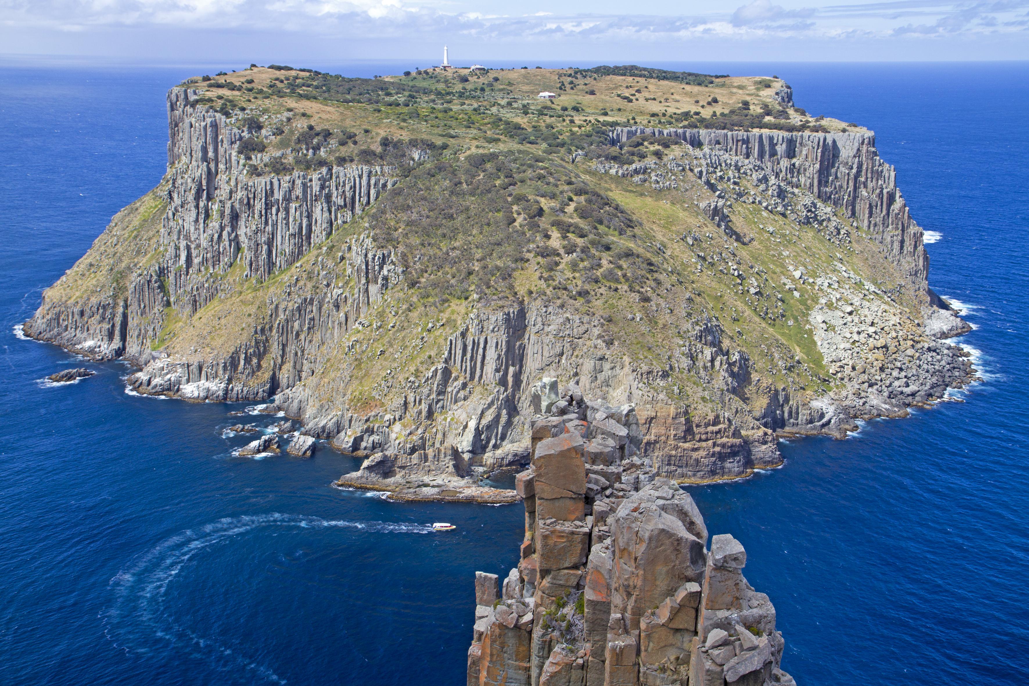 Three Capes Lodge Walk aerial view