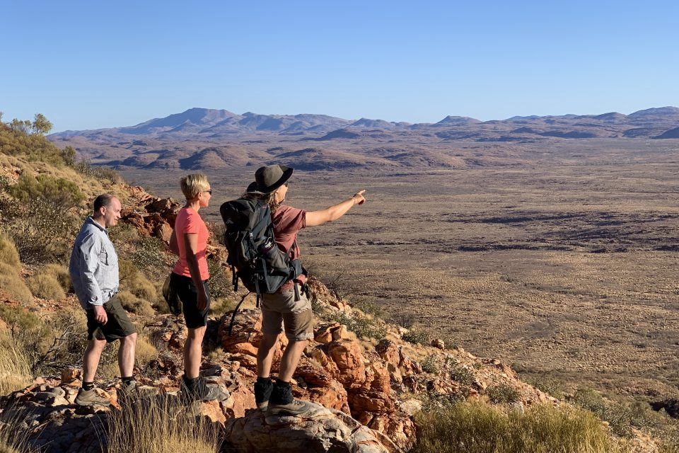 Looking out over the Northern Territory